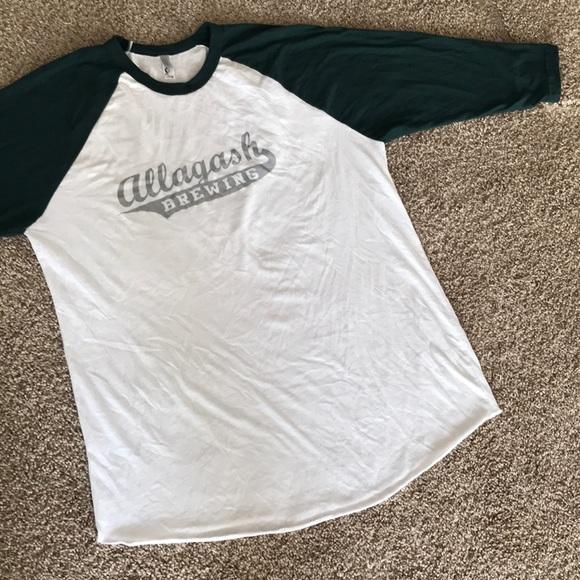 Other - ALLAGASH BREWING Portland Maine Beer basebal shirt